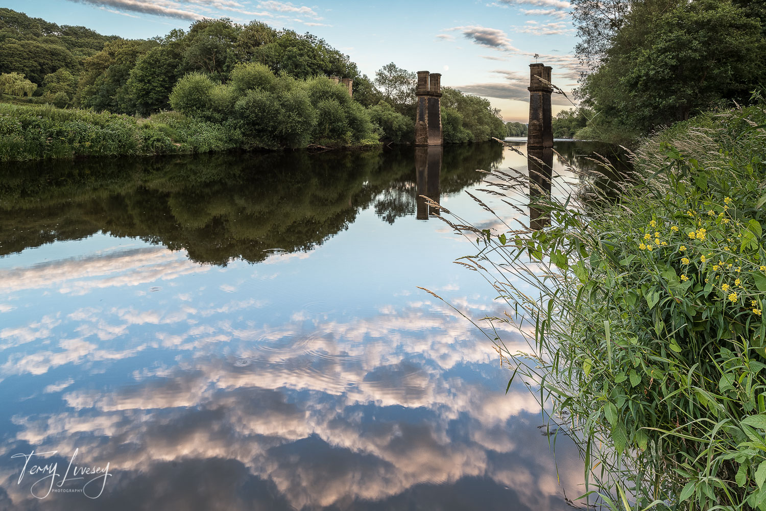 Just down the river from Bewdley, towards Arley, is the Dowles bridge which is an old, part-dismantled railway bridge which remains like a monument to the local history or the area.