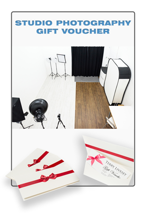 Get the studio training gift voucher