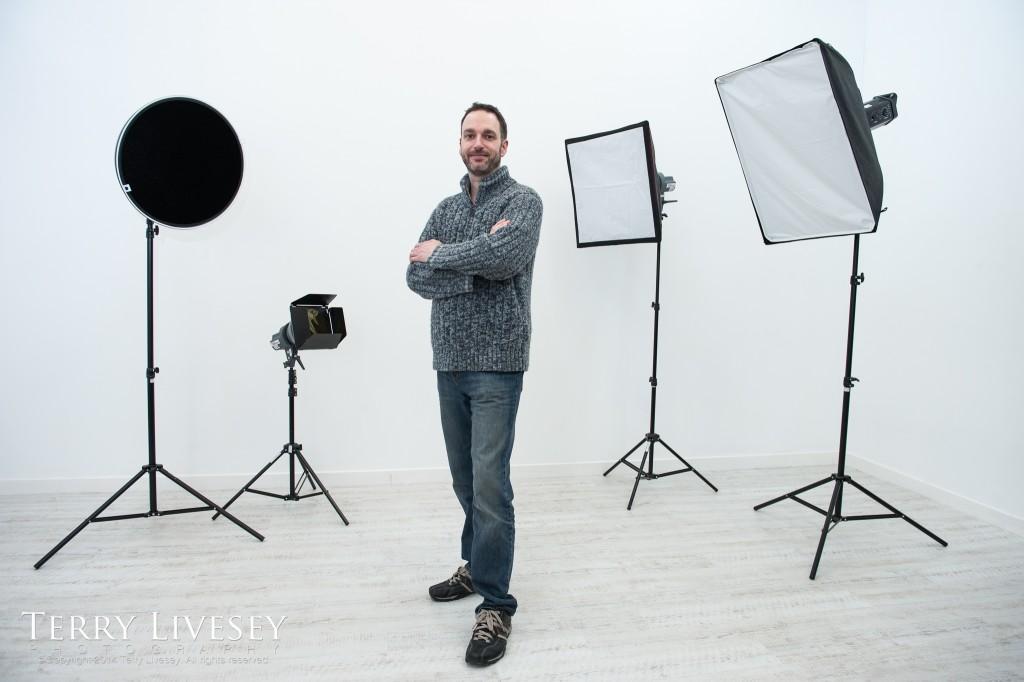 Terry Livesey New Studio