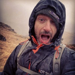 Terry Livesey - Wet Snowdonia selfie