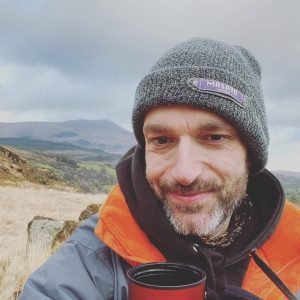 Terry Livesey - Snowdonia selfie