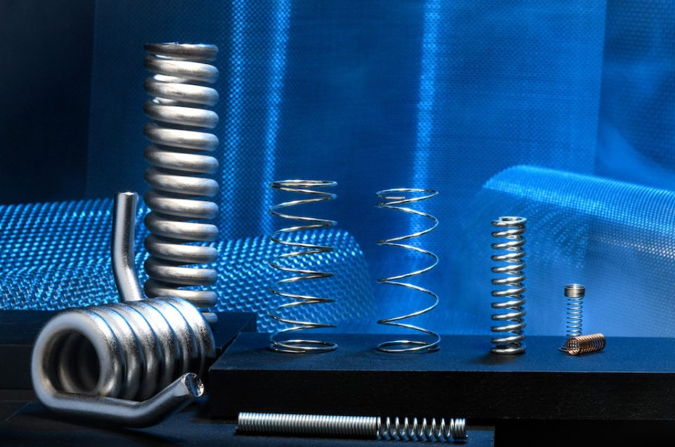 Smoke, springs and metal video and photorgaphy