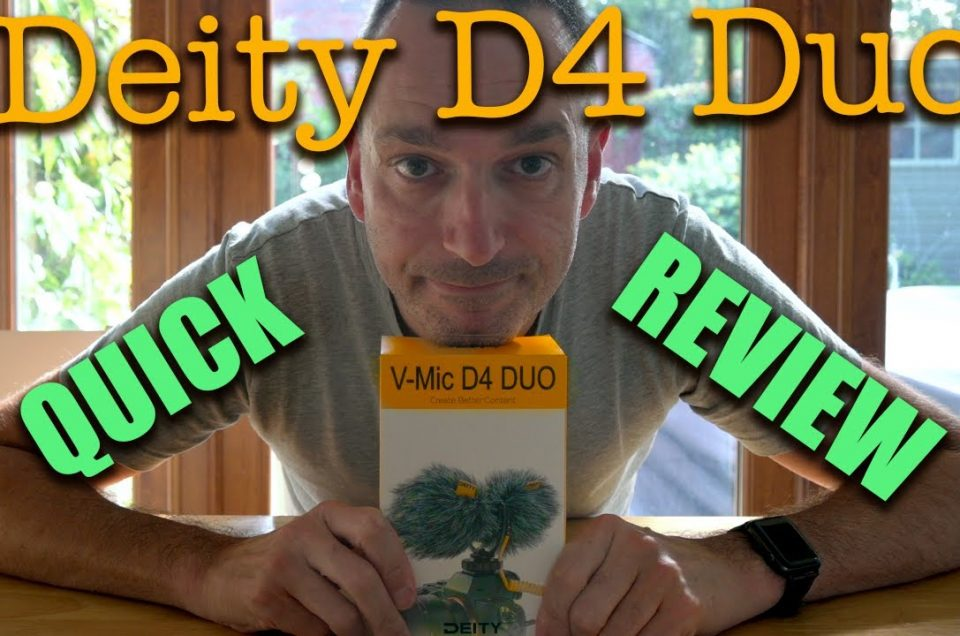 REVIEW - Deity D4 Duo - The Vloggers mic