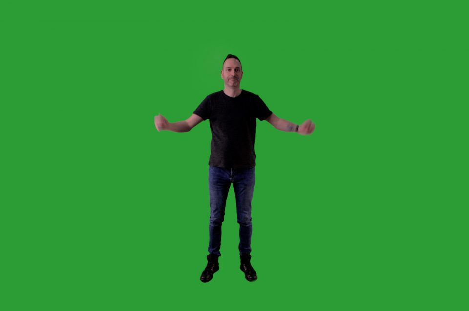Green Screen - How to add a realistic shadow