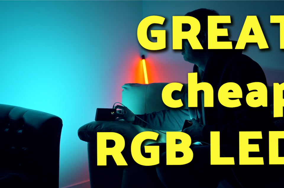 REVIEW - a really GREAT, cheap RGB LED Light