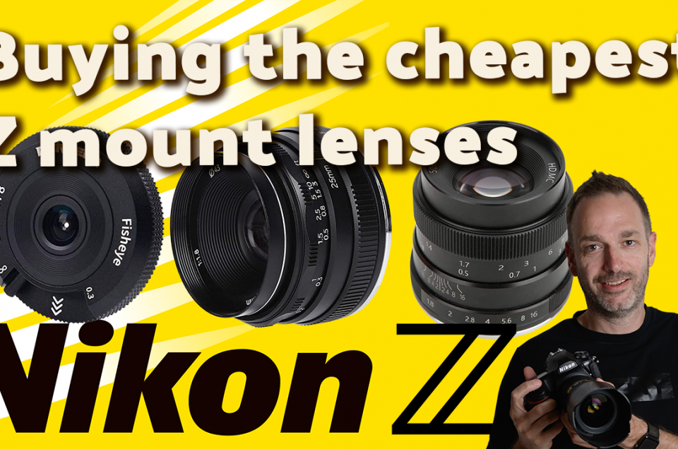 I bought the cheapest Z mount lenses so you don't have to 👍🏻 but you might want to 😁
