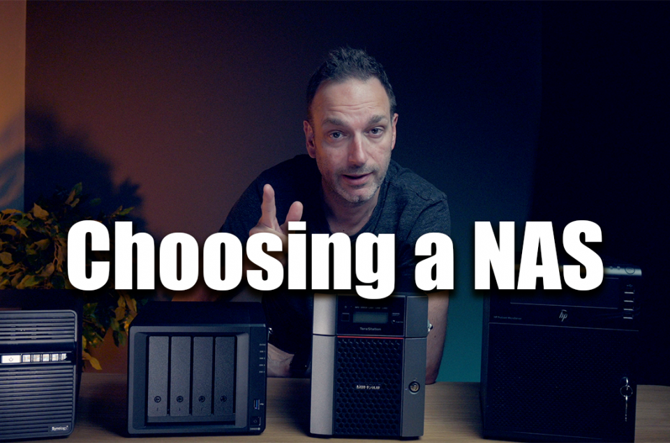 Buying a NAS (Storage Server) for photography and videography - See what I bought